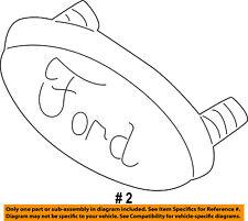 FORD OEM 01-04 Escape Grille-Emblem Badge Nameplate YL8Z7842528BB