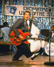 BACK TO THE FUTURE MICHAEL J. FOX 8X10 PHOTO GUITAR