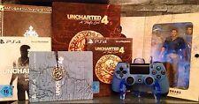 ❌PS4 Playstation Uncharted 1-4 Sammlung collectors special Steelbook Edition NEU