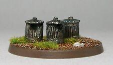 TQD MC08 20mm Diecast Diorama Items: 3 dustbins with lid