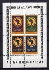 A8030) MALAWI 1969  African Development Bank  S/S   MNH**