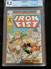 iron fist 14 cgc 9.2 Firat Appearance Of Sabertooth Never Pressed