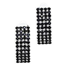 Black Diamante Rhinestone Jewellery Set Sparkly Prom Party Special Occasion 568