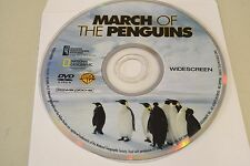March of the Penguins (DVD, 2005, Widescreen)Disc Only Free Shipping 3-105