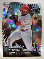 Taylor Trammell Bowman Chrome 2019 Top 100 Prospects Atomic Refractor /150 SP