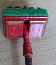 Bohner / Blocker aus Holz für die Puppenstube wohl 1930er Jahre Original