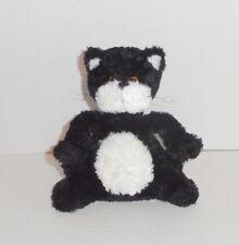 Russ Berrie Scratch the Cat Plush Tuxedo Kitty Black White #22203 EUC P91