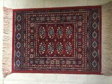 Vintage Small Silk Oriental Rug
