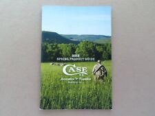 2015 Case Knives Catalog / Brochure