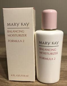 Mary Kay Balancing Moisturizer Formula 2-4 oz Full Size Normal-Combination Skin