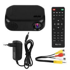 2¨ 1080P LCD LED PROYECTOR 2000LÚMENE HD HOME CINEMA VIDEO PROJECTOR HDMI USB AV