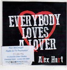 (FJ904) Alex Hart, Everybody Loves A Lover - 2014 DJ CD