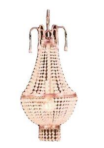 Hampton Bay Antique Finish Collection 1-Light Mini Pendant Chandelier