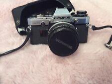 "Olympus OM10  Lens,Case ""Ex Cond- Working"""
