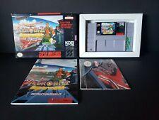 Aerobiz Supersonic (Super Nintendo Entertainment System, 1995) SNES Complete