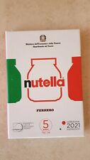 Italien 3 x 5 euro 2021 NUTELLA ® by Ferrero in 1 Originalfolder Lieferbar