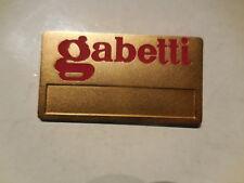 distintivo Gabetti