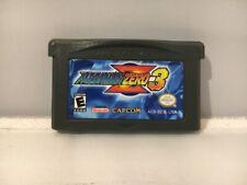 Mega Man Zero 3 (Nintendo Game Boy Advance, GBA, 2004) - Tested, Works!