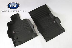 2020-2021 Chevrolet Corvette C8 Premium All Weather Floor Liners 84534619 Black
