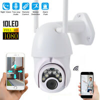 1080P HD PTZ Security WIFI Camera Waterproof Outdoor Wireless IP CCTV Pan IR Cam