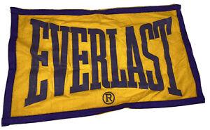 Vintage Everlast Banner Boxing Rare USA Purple Gold Wool Felt 50s/60s Ali Gym