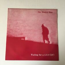 "The Monkey Run – Waiting For A 4.0.9 (EP) Vinyl, 12"", UK, 1987."