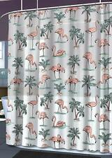 Splash Bath- Peva Shower Curtain- Flamingo 70 x 72