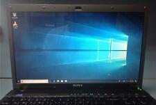 Sony Vaio Quadcore Intel Core i7 Q740@1.73GHz 500GB HDD 4GB RAM NvidaGF FullHD