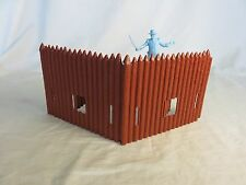 Classic Toy Soldiers/MARX Fort Apache Walls w/ Cannon Port, 54MM Toy Soldiers