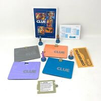 Clue FX Electronic Talking Game Replacement Parts Pieces Pawns Manual Paper More