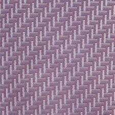 HERMES Heavy Silk purple geometric basketweave pattern classic neck tie