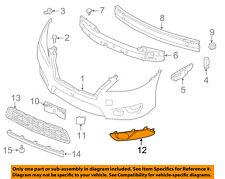 NISSAN OEM 13-15 Sentra Front Bumper-Finish Molding Right 622563SH0B