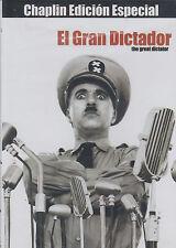 DVD - El Gran Dictador NEW The Great Dictator FAST SHIPPING !