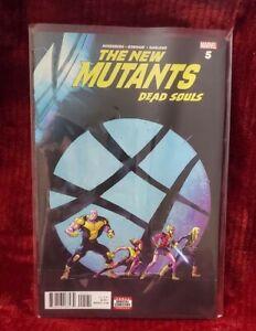 The New Mutants Dead Souls #5 Marvel comics 2018