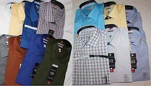 Van Heusen Classic Fit Men's Dress Shirts LS NWT, Many Sizes, Styles, & Colors