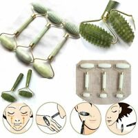 Double Head Eye Neck Care Roller Face Massager Facial Relax Slimming Tool