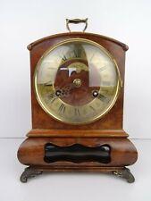 Vintage 8 day Mantel Clock Warmink Dutch Mid Century (Hermle WUBA Junghans era)
