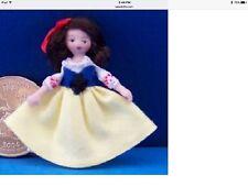 "Dollhouse Miniature Porcelain Dollhouse Doll Ethel Hicks ""Snow White"""