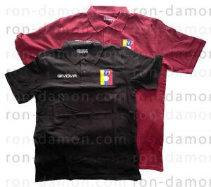 Givova FVF Venezuela Vinotinto Summer Polo Camisa Chemise