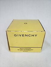 Vintage Givenchy Le de Givenchy Bath --Dusting Powder 8 oz New Old Stock in Box