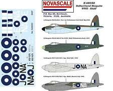 RAAF Mosquito WWII Decals 1/48 Scale N48050