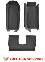 FITS 2005-2013 Chevrolet Corvette Coupe Front with Riser with Pad Cutpile Carpet
