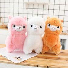 Stuffed Toy Plush Cute Animal Llama Alpaca Soft Gift For Kids Sheep Doll 30/50Cm