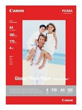 Canon Pixma gp-501 (A4) 210g/m2 Papel Fotográfico Satinado (Blanco) 1 Pack