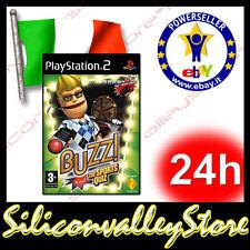 Buzz The Sports Quiz - Sony PlayStation 2 - PS2 Game - Italiano