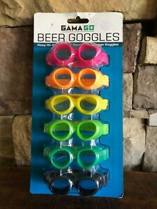 GamaGo Beer Goggles 6 pack Bottle/Can Markers *NEW*