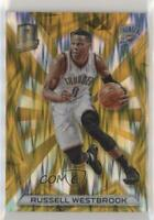 2015-16 Panini Spectra Gold Prizm /10 Russell Westbrook #1
