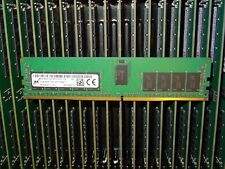 1X 12GB DDR4 Micron MTA18ASF1G572PDZ-2G3 2RX8 PC4-2400T ECC REG