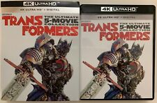 TRANSFORMERS THE ULTIMATE FIVE MOVIE COLLECTION 4K ULTRA HD 10 DISC + SLIPCOVER