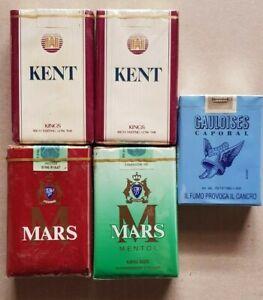 N.5 Vintage Full boxes cigarettes pacchetti sigarette pieni - anni 80/90